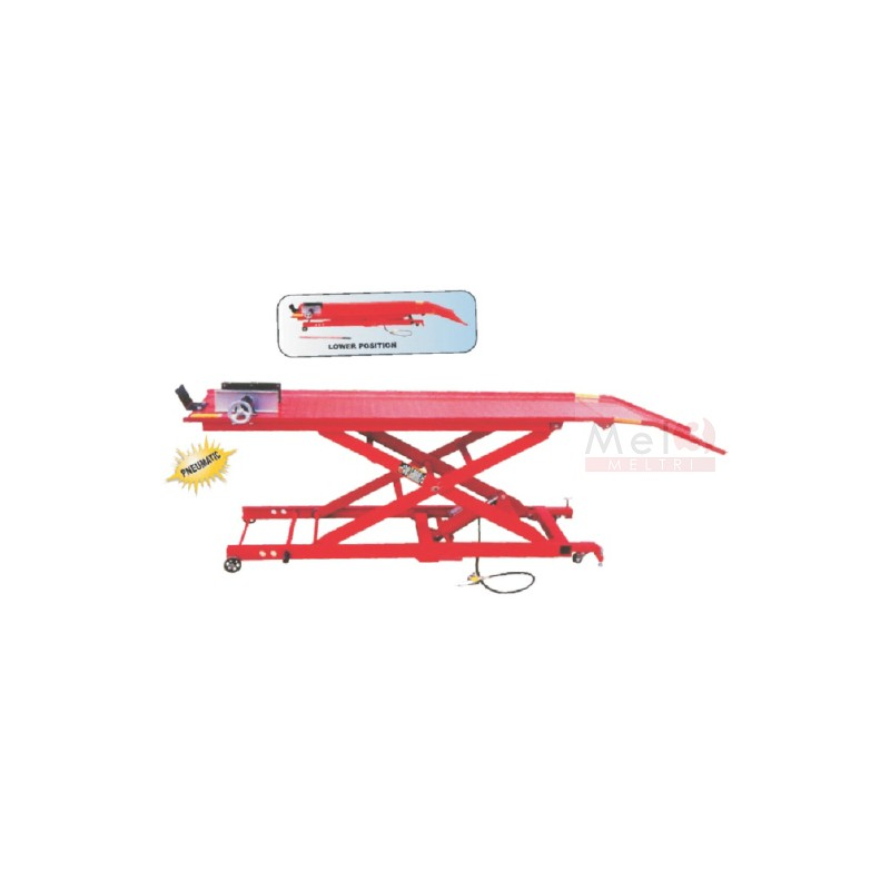 MOTORCYCLE LIFT TABLE PNEUMATIC