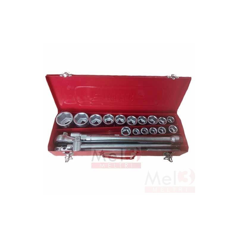 HD SOCKET SET 6 PT - 3/4""