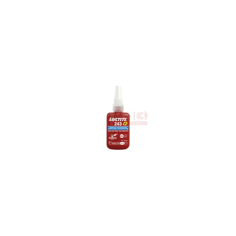 LOCTITE 243 MED STR THREADLOCKER 50 ML