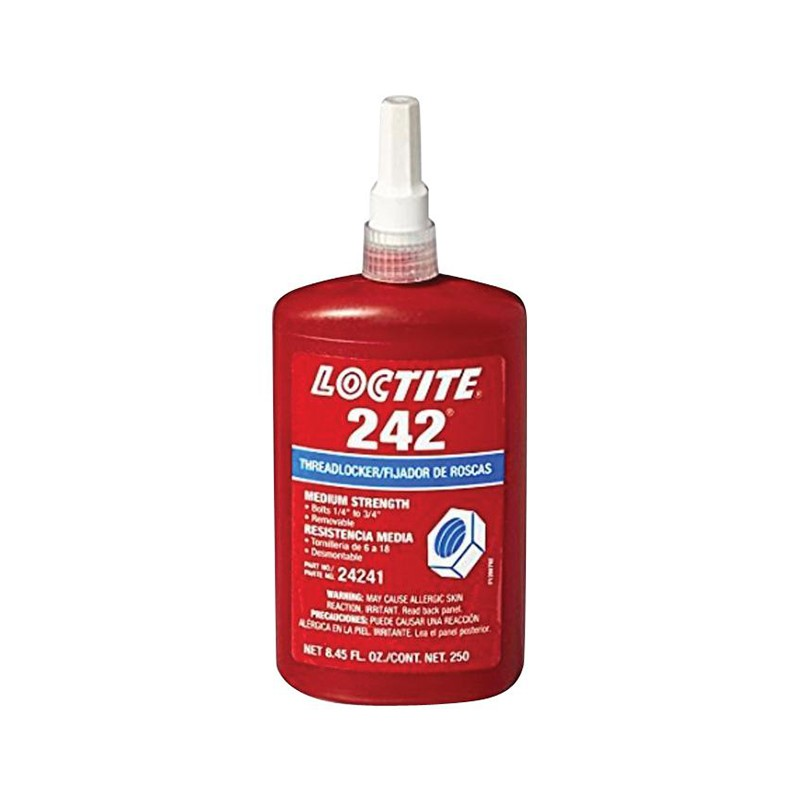 LOCTITE 242 MED STR THREADLOCKER 50 ML