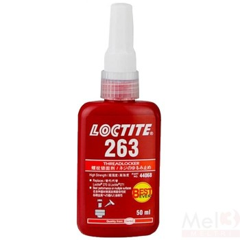 LOCTITE 263 HI STR THREADLOCKER 50 ML