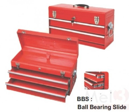 TOOL BOX 2 DRAWERS PORTABLE