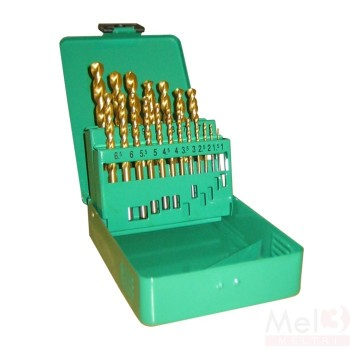 Tin Coated HSS Jobber Drill Bit Set (mm)