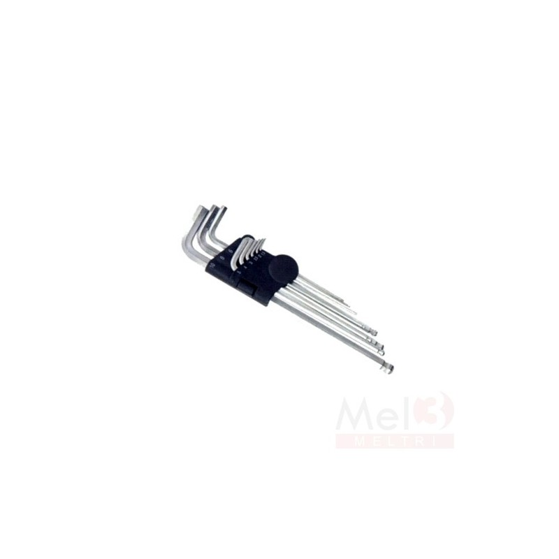 BALLPOINT HEX KEY SET (9 pcs)