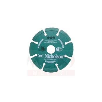 NICHOLSON DIAMOND WHEEL 100mm TURBO