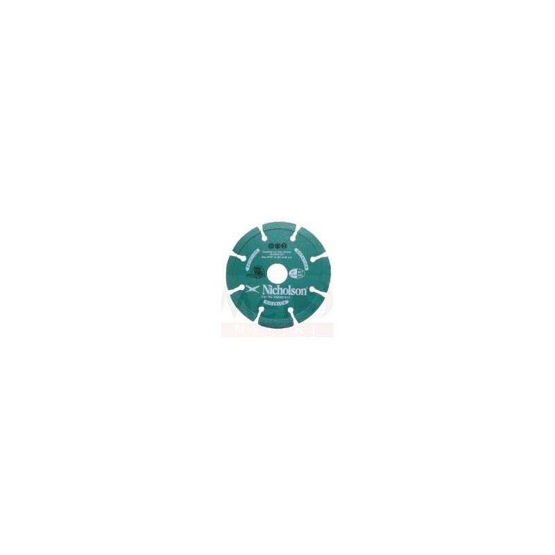 NICHOLSON DIAMOND WHEEL 100mm TURBO